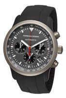 Porsche Design 6612.14.50.1139 Dashboard P'6612 Titanium and Aluminum Grey Dial