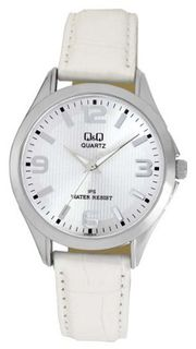 Q&Q Ladies White Leather Fashion C192J314Y