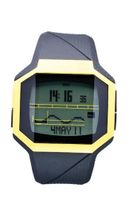 Quiksilver Addictiv Yellow Digital Surf M128TRBKY with Polyurethane Strap