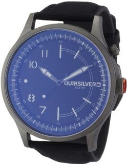 Quiksilver Admiral Canvas Quartz with Multicolour Dial Analogue Display and Multicolour Fabric and Canvas Bracelet M164LWAGUN88T
