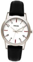 Rakani +5 32mm White with Black Leather Band