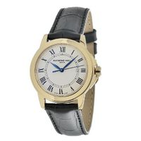 Raymond Weil 5376-P-00300 Tradition Round Case Gold Tone