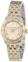 "Raymond Weil 5399-SPS-00657 ""Tango"" Two-Tone Diamond Bezel Dress"