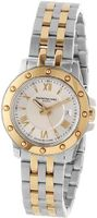 Raymond Weil 5399-STP-00657 Tango Yellow Gold Steel Case and Bracelet Beige Dial