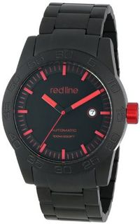 red line RL-50045-BB-11RD Mileage Analog Display Japanese Automatic Black