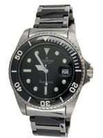 R?gnier Semplicita R1314 Stainless Steel And Black Ceramic Strap 2030132