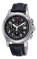 Revue Thommen 16041.6537 Air speed Black Face Automatic Chronograph