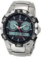 Rip Curl A1029-BLW Shipstern Tidemaster 2 Black and White Stainless Steel Tide