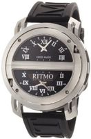 Ritmo Mundo 201/2 SS Quartz Persepolis Triple Time Zone Orbital Case