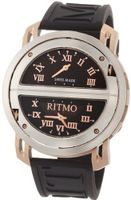 Ritmo Mundo 201/2 SS RG Quartz Persepolis Triple Time Zone Orbital Case
