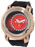 Ritmo Mundo 202/2 Red SS RG Persepolis Dual-Time Exhibition Automatic
