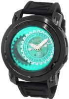 Ritmo Mundo 202/3 Green Black Persepolis Dual-Time Exhibition Automatic