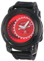 Ritmo Mundo 202/3 Red Black Persepolis Dual-Time Exhibition Automatic
