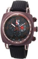 Ritmo Mundo 221 Brn Black INDYCAR Series Quartz Chrono with Brown Ion-Plating Case