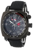 Ritmo Mundo 221 INDYCAR Series Quartz Chrono with Black Ion-Plating Case