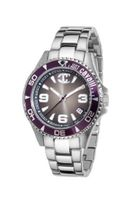 Just Cavalli Ladies Abyss Analogue R7253141023 with Quartz Movement, Stainless Steel Bracelet and Grey Dial
