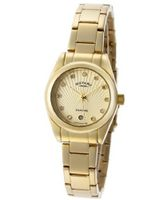 Diamond Gold Textured Dial Gold IP Stainless Steel