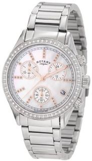 Rotary LB700025/07 Rotary Exclusive Ladies Sport Chronograph Bracelet