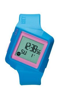 Roxy The Yang Digital with Multicolour Dial Digital Display and Multicolour Plastic or PU Bracelet W231DR-BLU12T