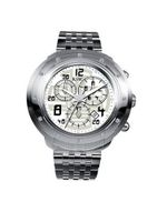 RSW 4130.BS.S0.12.D0 Volante Round Silver Dial Chronograph Sapphire Crystal Diamond