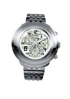 RSW 4130.BS.S0.25.00 Volante Stainless-Steel Bracelet White Chronograph Date