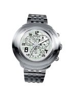 RSW 4130.BS.S0.52.00 Volante Stainless-Steel Bracelet Grey Chronograph Date