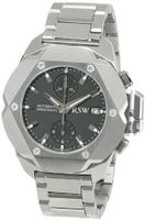 RSW 4400.MS.S0.1.D0 Nazca Stainless-Steel Diamond Black Automatic Chronograph