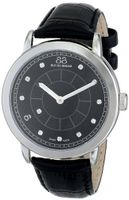 88 Rue du Rhone 87WA120026 Analog Display Swiss Quartz Black