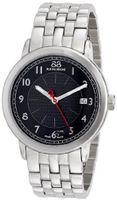 88 Rue du Rhone 87WA120028 Analog Display Swiss Quartz Black