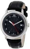 88 Rue du Rhone 87WA120030 Analog Display Swiss Quartz Black