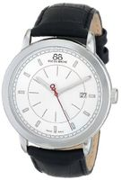 88 Rue du Rhone 87WA120036 Analog Display Swiss Quartz Black