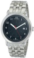 88 Rue du Rhone 87WA120037 Analog Display Swiss Quartz Silver