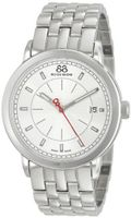 88 Rue du Rhone 87WA120063 Analog Display Swiss Quartz Silver