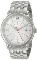 88 Rue du Rhone 87WA120064 Analog Display Swiss Quartz Silver
