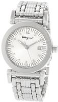 Salvatore Ferragamo F50LBQ9902 S099 Salvatore Quartz 3-Hands Stainless-Steel Bracelet