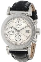 Salvatore Ferragamo F50LCA9902 S009 Salvatore Automatic Chronograph Black Leather Band