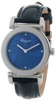 Salvatore Ferragamo F50SBQ9904I SB04 Salvatore Blue Mother-of-Pearl Dial with Diamonds Sapphire Crystal