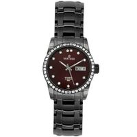 Sartego SBBG51 Classic Analog Burgundy Face Dial Black Stainless Steel