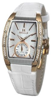 Seculus Design 1667.2.1069 white, pvd cz stones
