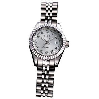 Semdu SD7008L Stainless Steel White Dial Automatic