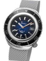 Squale 1000 meter Professional Swiss Automatic Dive with Sapphire Crystal 2002BLBK-S