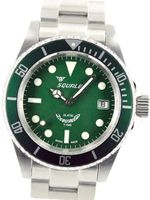 Squale 200 meter MINT Green Swiss Automatic Dive with Domed Sapphire Crystal 1545-G