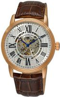Stuhrling Original 1077.3345K2 Classic Delphi Venezia Automatic Skeleton Brown