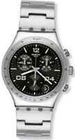 S Blustery Black Chronograph Black Stainless Steel YCS564G