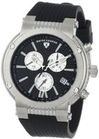 Swiss Legend 10006-01-SB Legato Cirque Collection Chronograph Rubber