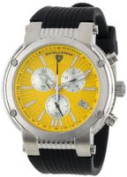 Swiss Legend 10006-07Y-SB Legato Cirque Collection Chronograph Rubber
