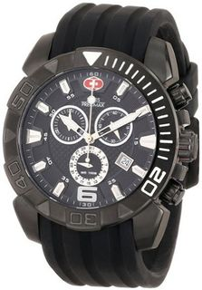 Swiss Precimax SP13116 Recon Pro Sport Analog Display Swiss Quartz Black
