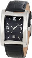 Ted Lapidus 5100301 Black Dial Black Leather