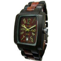 Tense Dark Sandalwood Jumbo Oblong Natural Wood J8102DS