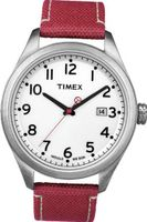 Timex Originals T2N224 T Series White Dial Red Strap